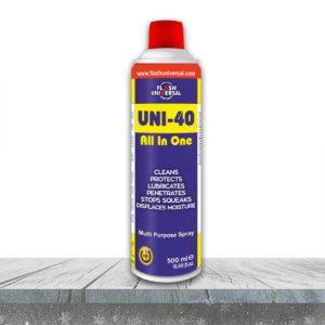 UNI-40 Çok Amaçlı Yağlayıcı & Pas Sökücü