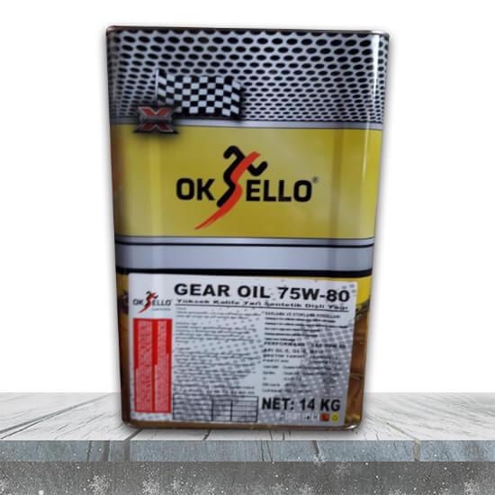 Oksello 75w-80 şanzıman yağı